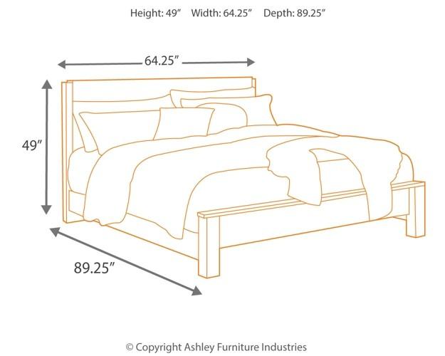Windlore 5 Piece Bedroom Package B320 91 2 B2