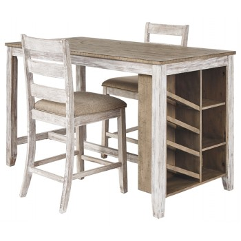 Skempton - Counter Height Dining Table and 2 Barstools