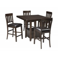Haddigan 5-Piece Counter Height Dining Room