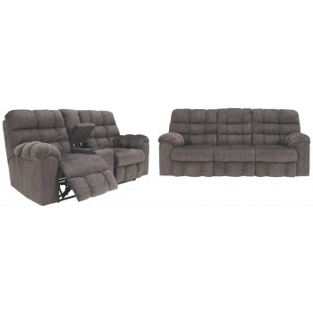 Acieona Reclining Sofa and Loveseat