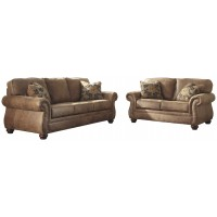 Larkinhurst Sofa and Loveseat