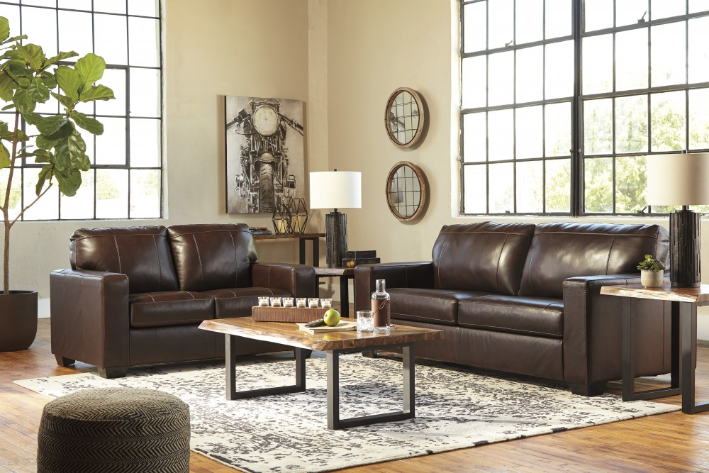 Superb Morelos Chocolate Leather Match Sofa Loveseat 34502 Andrewgaddart Wooden Chair Designs For Living Room Andrewgaddartcom