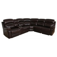 AMANDA MOTION COLLECTION - 6 Pc Power3 Sectional