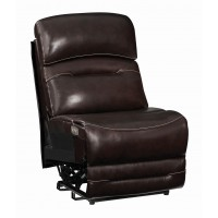 AMANDA MOTION COLLECTION - Armless Power3 Recliner