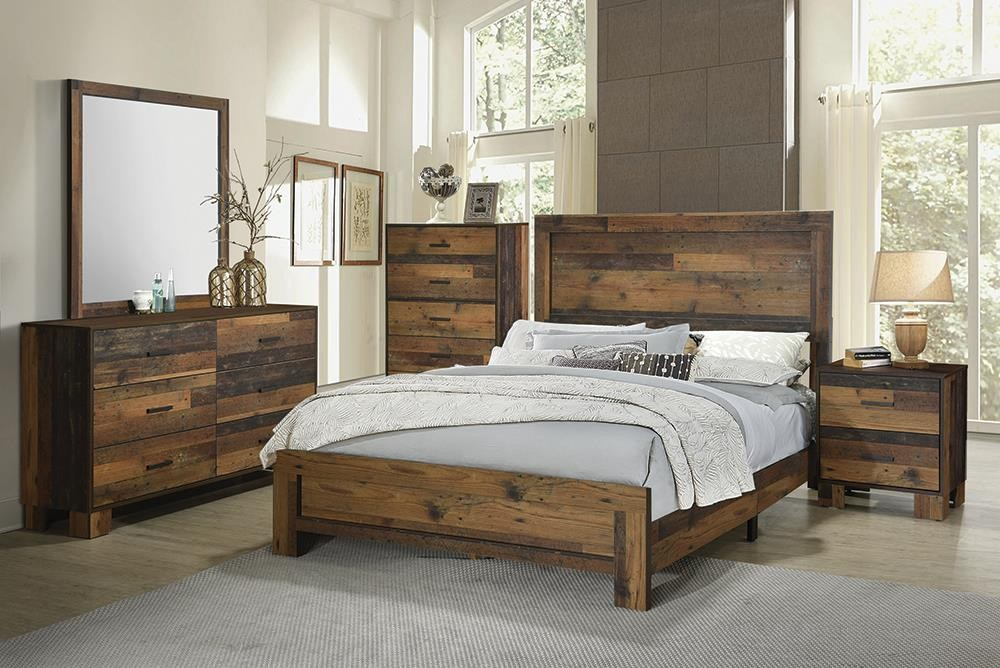 SIDNEY COLLECTION - E King Bed