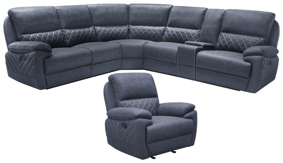 VARIEL MOTION COLLECTION - 6 Pc Motion Sectional