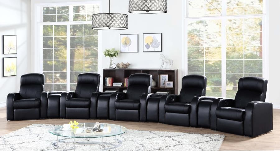 CYRUS HOME THEATER COLLECTION - 9 Pc 5-Seater Home Theater