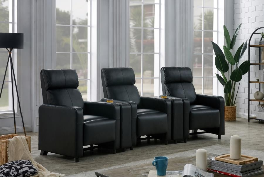 TOOHEY HOME THEATER COLLECTION - 5 Pc 3-Seater Home Theater