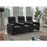TOOHEY HOME THEATER COLLECTION - 3 Pc 3-Seater Home Theater