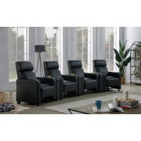 TOOHEY HOME THEATER COLLECTION - 7 Pc 4-Seater Home Theater