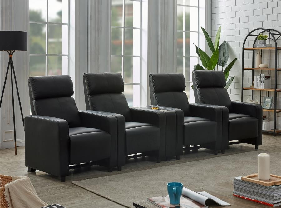 TOOHEY HOME THEATER COLLECTION - 5 Pc 4-Seater Home Theater