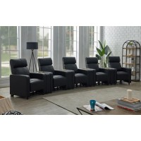 TOOHEY HOME THEATER COLLECTION - 9 Pc 5-Seater Home Theater