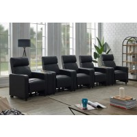 TOOHEY HOME THEATER COLLECTION - 7 Pc 5-Seater Home Theater