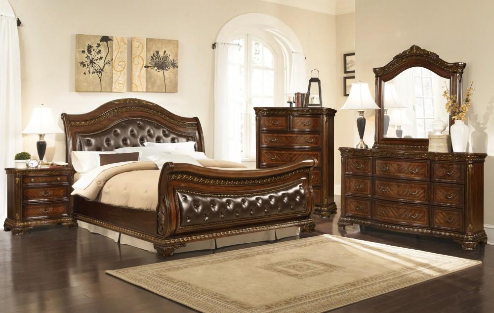 B1250 King Arthur Bedroom Set (5pcs)