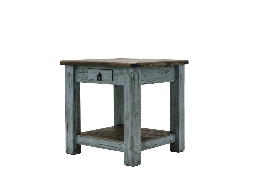 Rustic Hacienda End Table