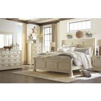 Ashley Bolanburg White Louvered Bedroom set