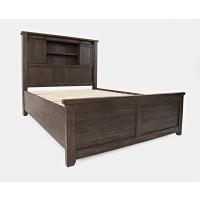 Madison County 3pc Queen Barn Door Bedroom: Bed, Dresser, Mirror