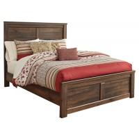 Quinden - Queen Panel Bed with Mirrored Dresser and 2 Nightstands