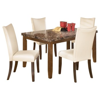 Lacey - Dining Table and 4 Chairs