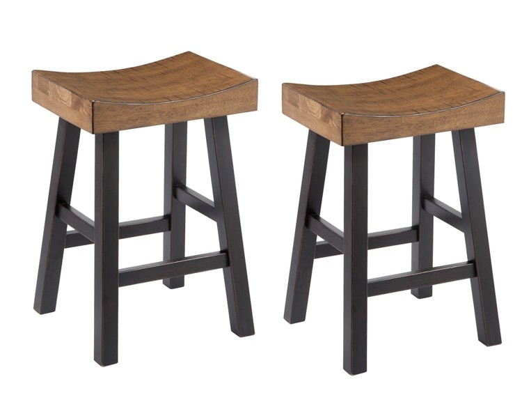 Glosco - 2-Piece Bar Stool