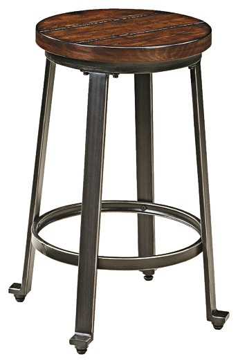Challiman - 2-Piece Bar Stool Package