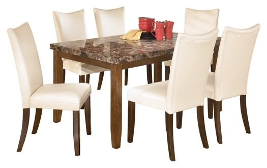 Lacey - Dining Table and 6 Chairs