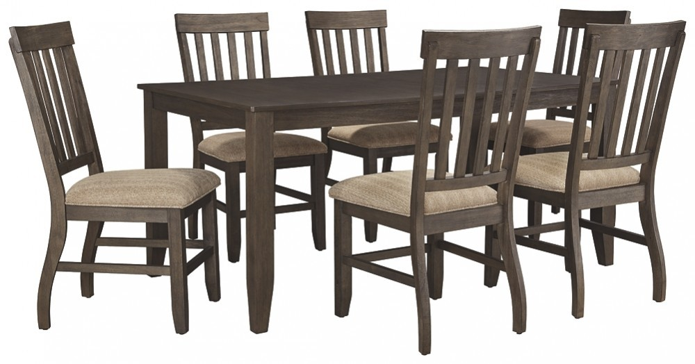 Dresbar - 7-Piece Dining Room Package