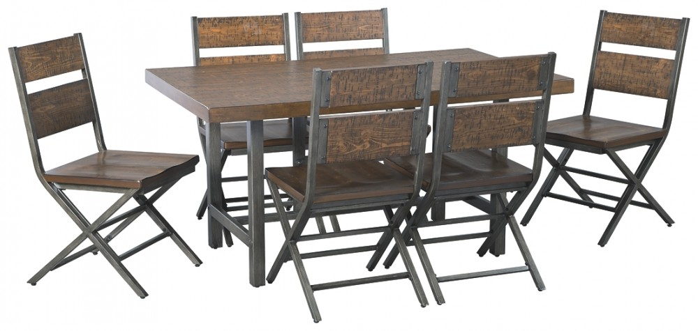 Kavara - Dining Table and 6 Chairs