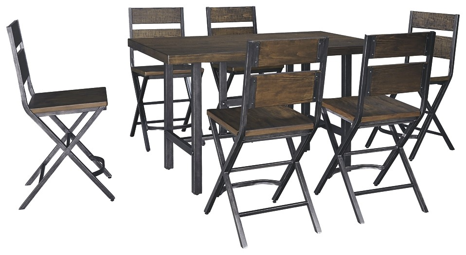 Kavara - 7-Piece Dining Room Package