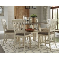 Bolanburg - Counter Height Dining Table and 6 Barstools