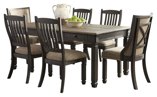 Tyler Creek - Dining Table and 6 Chairs