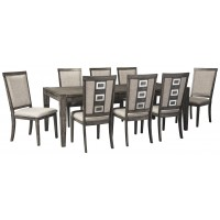 Chadoni - Dining Table and 8 Chairs