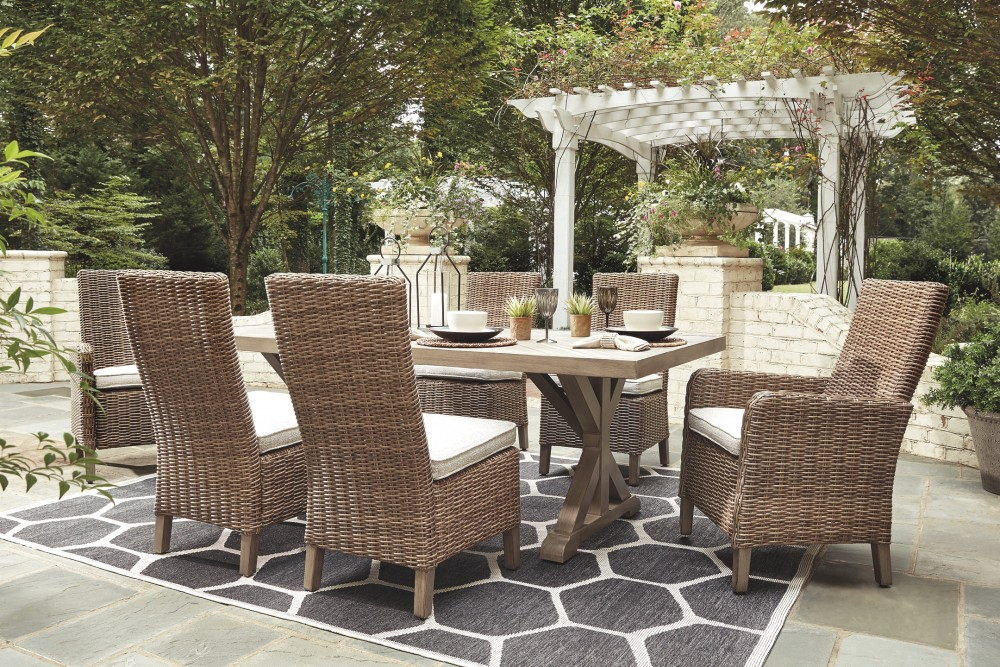 Beachcroft - Outdoor Dining Table and 6 Chairs
