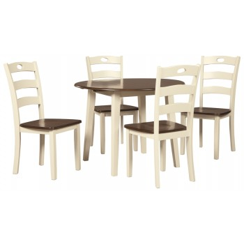 Woodanville - Dining Table and 4 Chairs