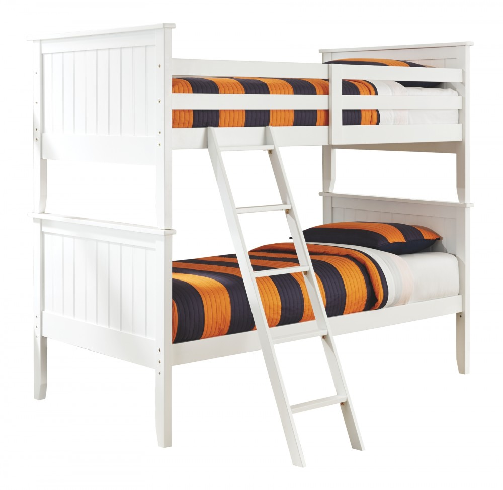 Lulu Twin Over Twin Bunk Bed With 2 Nightstands B102 92 2 B9 Kids Bedroom Groups Southside Furniture Tx