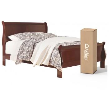 Alisdair - Queen Sleigh Bed with 8