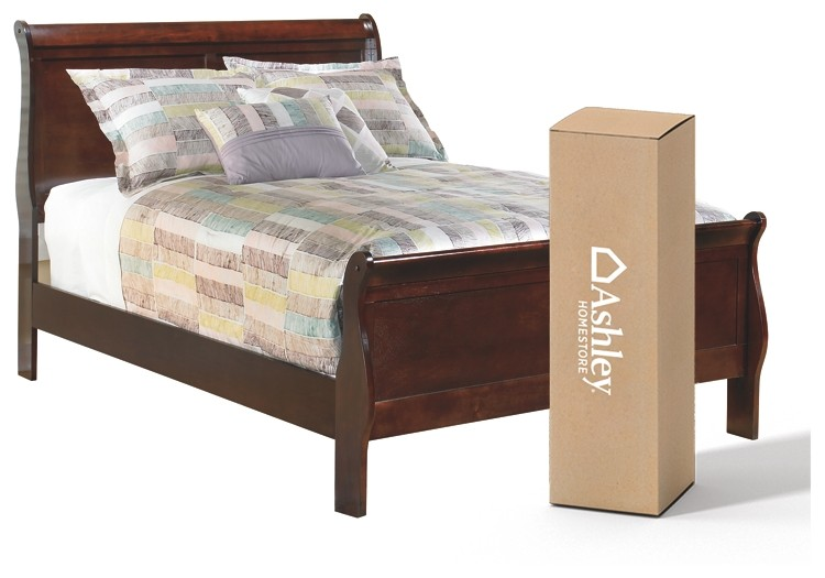 Alisdair - Full Sleigh Bed with 8