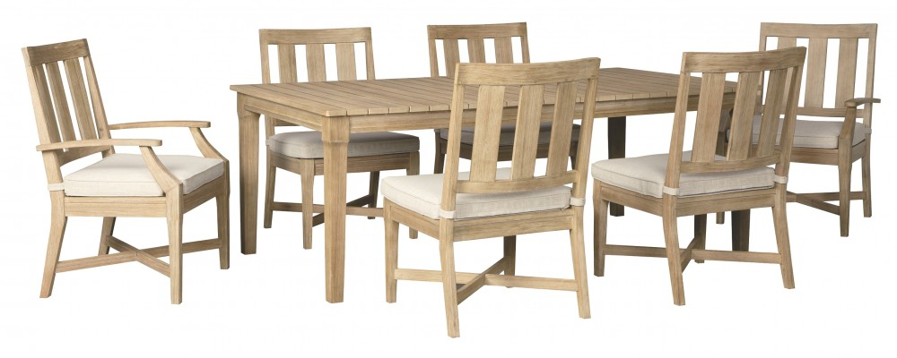 Clare View - Outdoor Dining Table and 6 Chairs