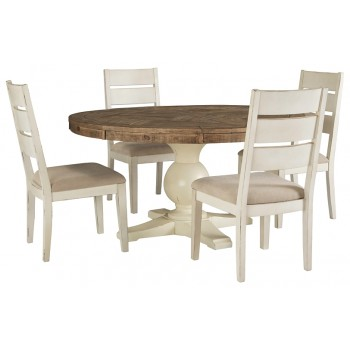 Grindleburg - Dining Table and 4 Chairs