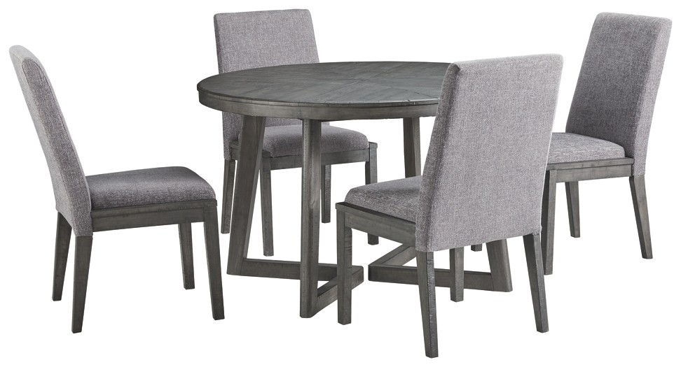 Besteneer - 5-Piece Dining Room Package