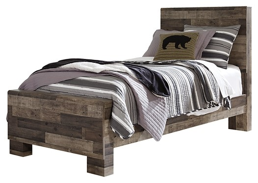 Derekson - Twin Panel Bed