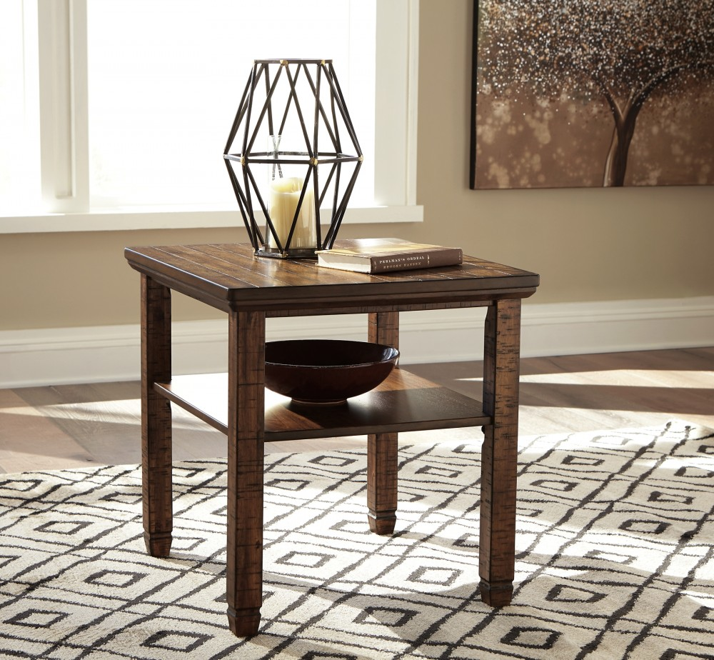Royard - Rectangular End Table