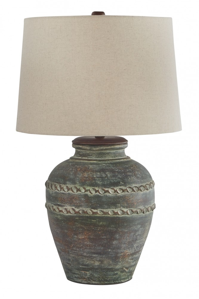 Mairead - Terracotta Table Lamp (1/CN)