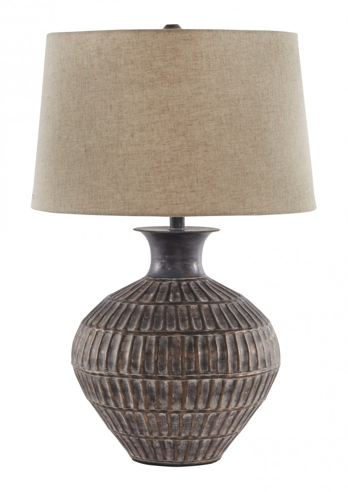 Magan - Metal Table Lamp (1/CN)