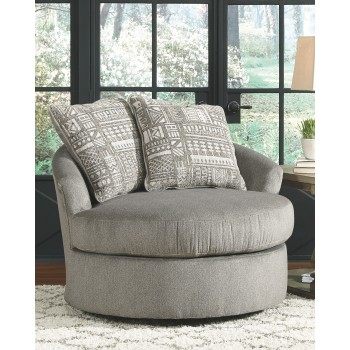 Soletren Swivel Accent Chair 9510344 Living Room Chairs Price Busters Furniture