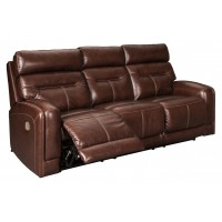 Sessom - PWR REC Sofa with ADJ Headrest