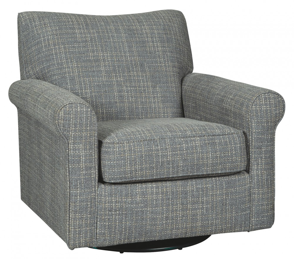 Renley - Swivel Glider Accent Chair