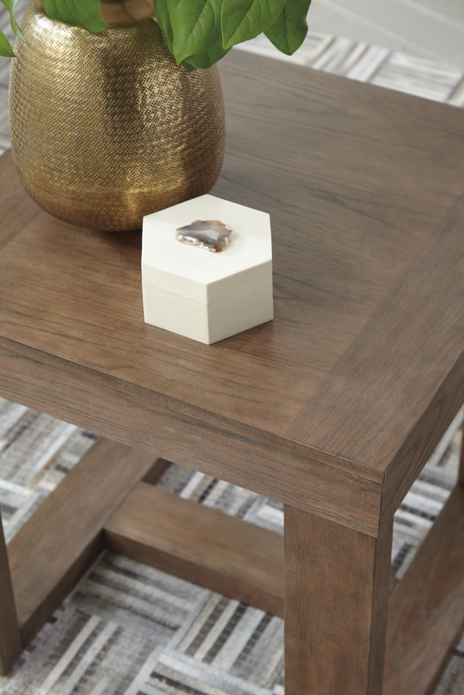 Cariton - Square End Table