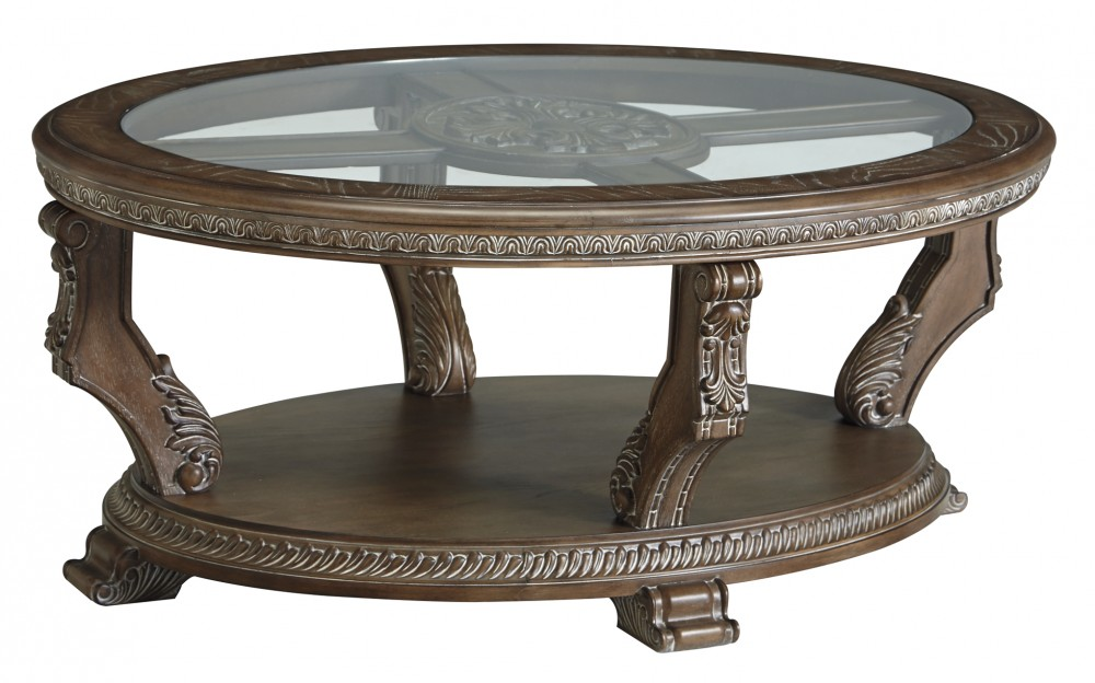 Charmond - Oval Cocktail Table