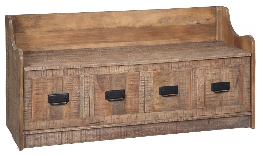 Garrettville - Storage Bench